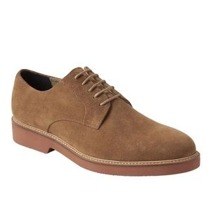 Banana Republic Suede Lace-Up Oxfords 10.5